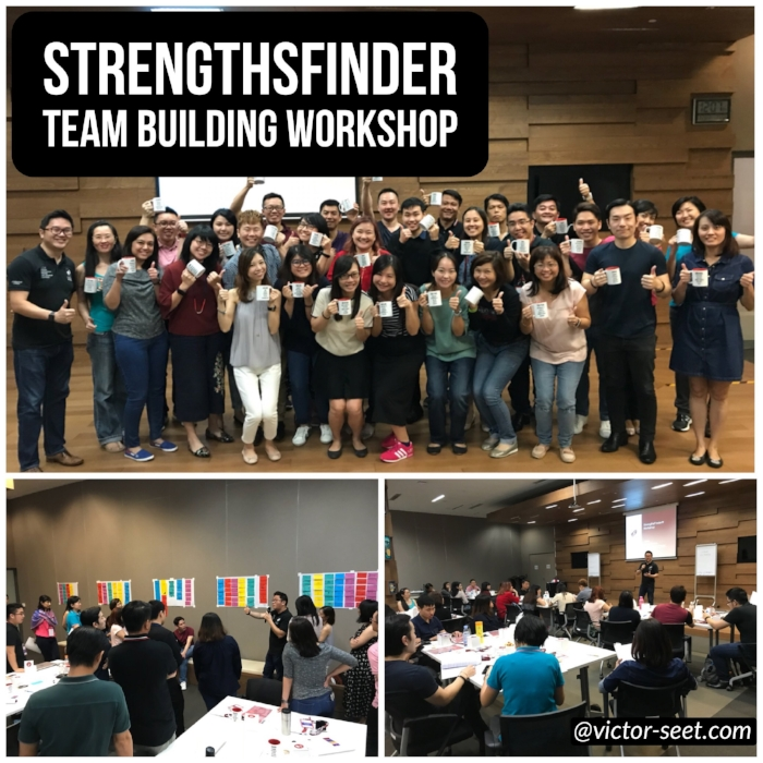 Gallup StrengthsFinder (CliftonStrengths) Team Building Workshop SGEnable Coach Victor Seet
