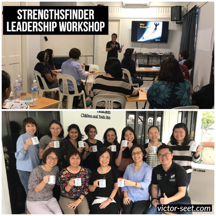 Gallup StrengthsFinder (CliftonStrengths) Leadership Workshop Singapore Diocese Kindergarten Principals Coach Victor Seet