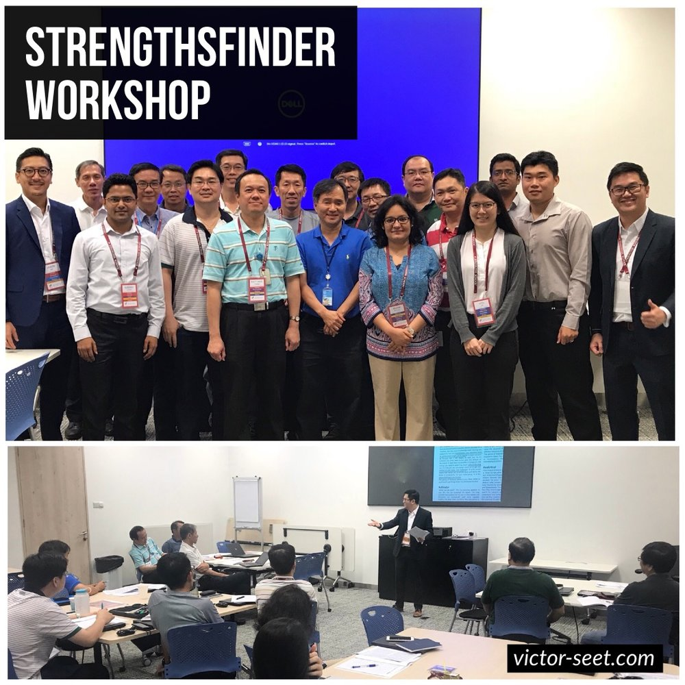 StrengthsFinder Team Building Workshop for Dell Gallup Coach Victor Seet