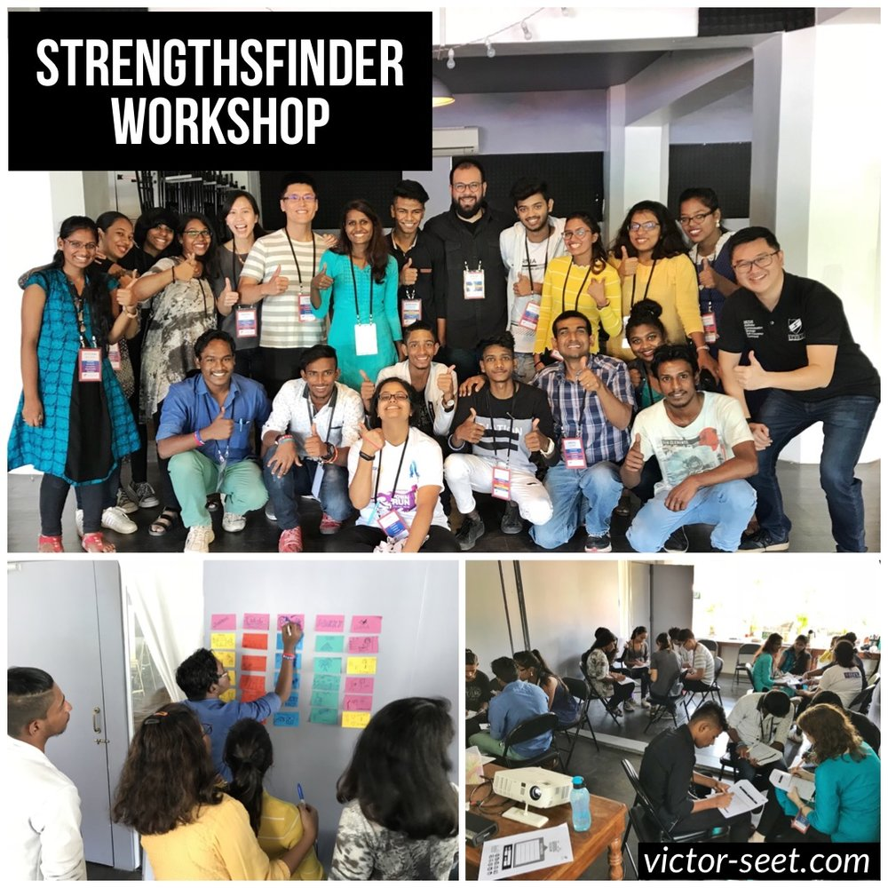 Gallup StrengthsFinder India Mumbai Workshop CliftonStrengths Coach Victor Seet