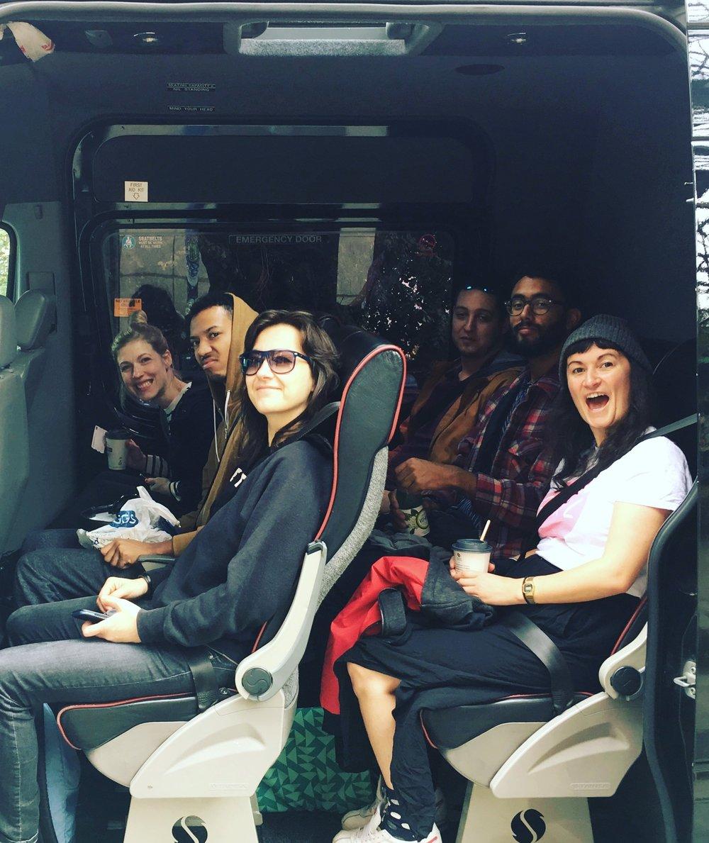 Our van is here!
