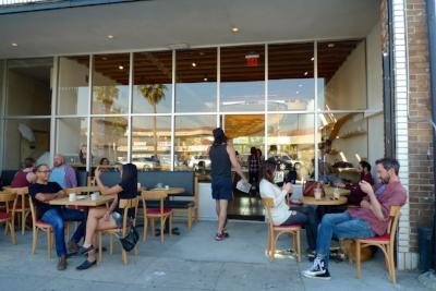 Dinosaur Coffee on Sunset Blvd