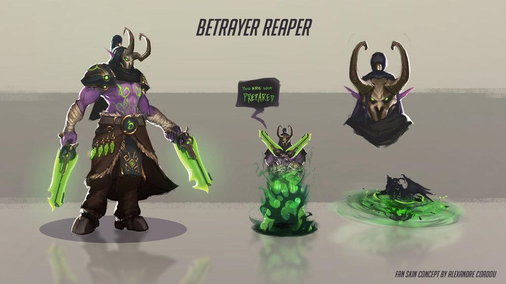 Betrayer Reaper by Alexandre Coadou