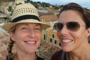 Mylene and I in Trinidad de Cub