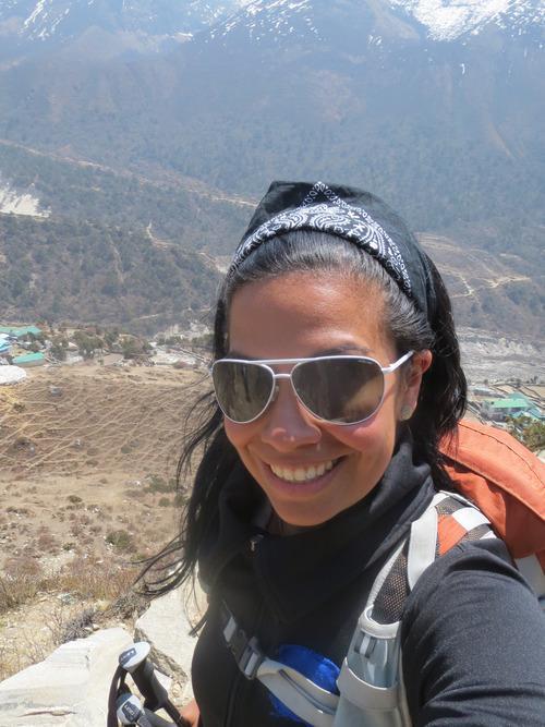 Just me, myself, and my mountains (Photo: Georgina Miranda)