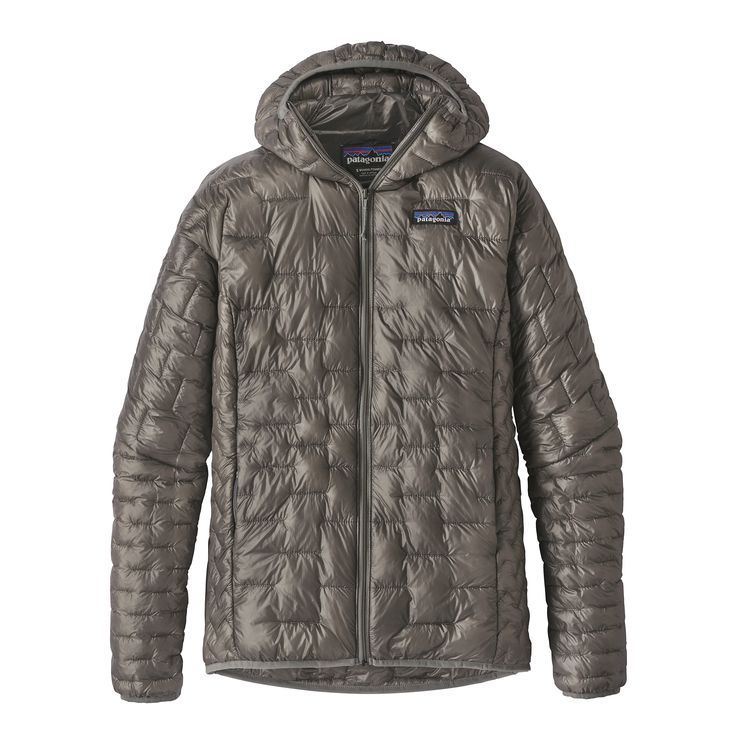 READY FOR FALL - Patagonia's best warmth for weight jacket they've ever built, the Micro Puff™ Hoody. Delivers ultralightweight, water-resistant, down-like warmth with PlumaFill synthetic insulation—a revolutionary featherlight down alternative.