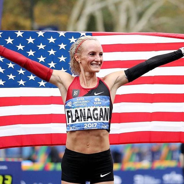 Amazing day for Shalane Flanagan — the first American woman in 40 years to claim the top spot at the New York City Marathon! Her unofficial time was marked at 2 hours, 26 minutes, and 53 seconds according to @womenatforbes. Congrats Shalane and to all the NYC marathon runners for crushing it today! 📷: @gettyimages  #chooseadventure #nycmarathon #womencrushingit