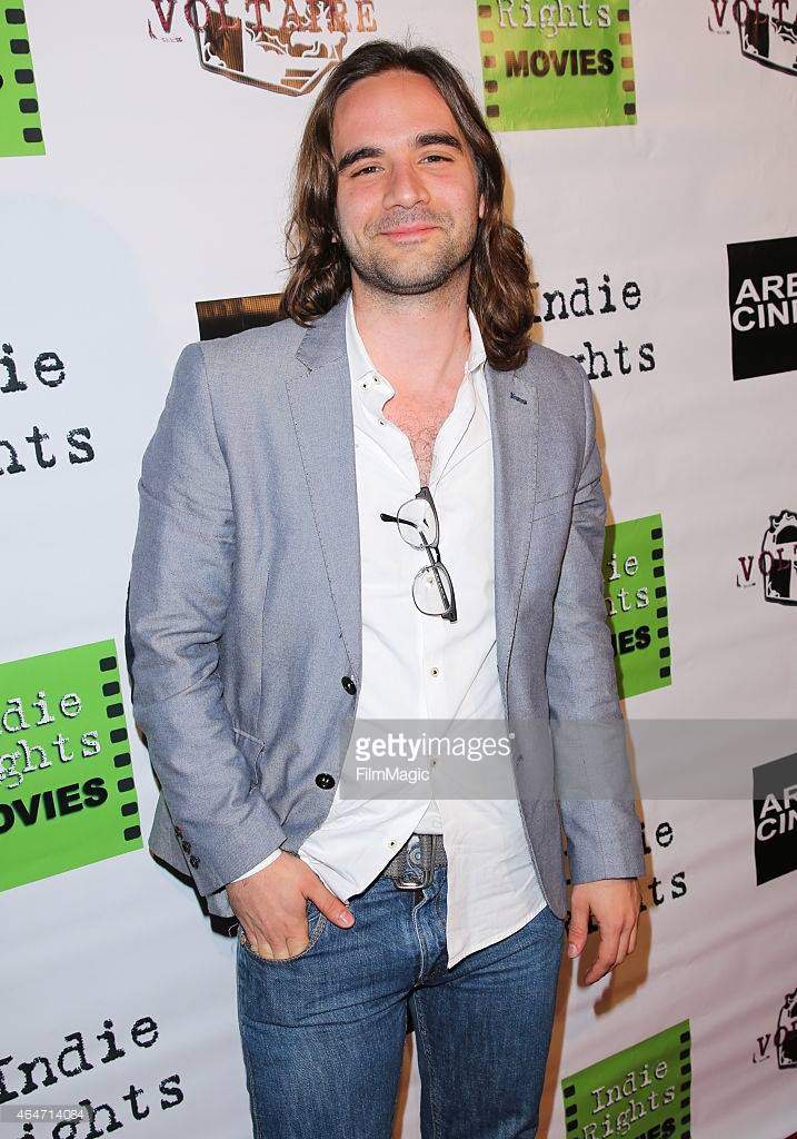 Writer/Director of 'Roxie' Nick Frangione on the Arena Cinema red carpet before the 'Roxie' premiere.
