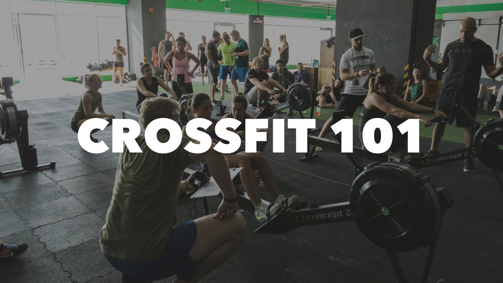 CROSSFIT 101 BEGINNERS CLASS IMAGE