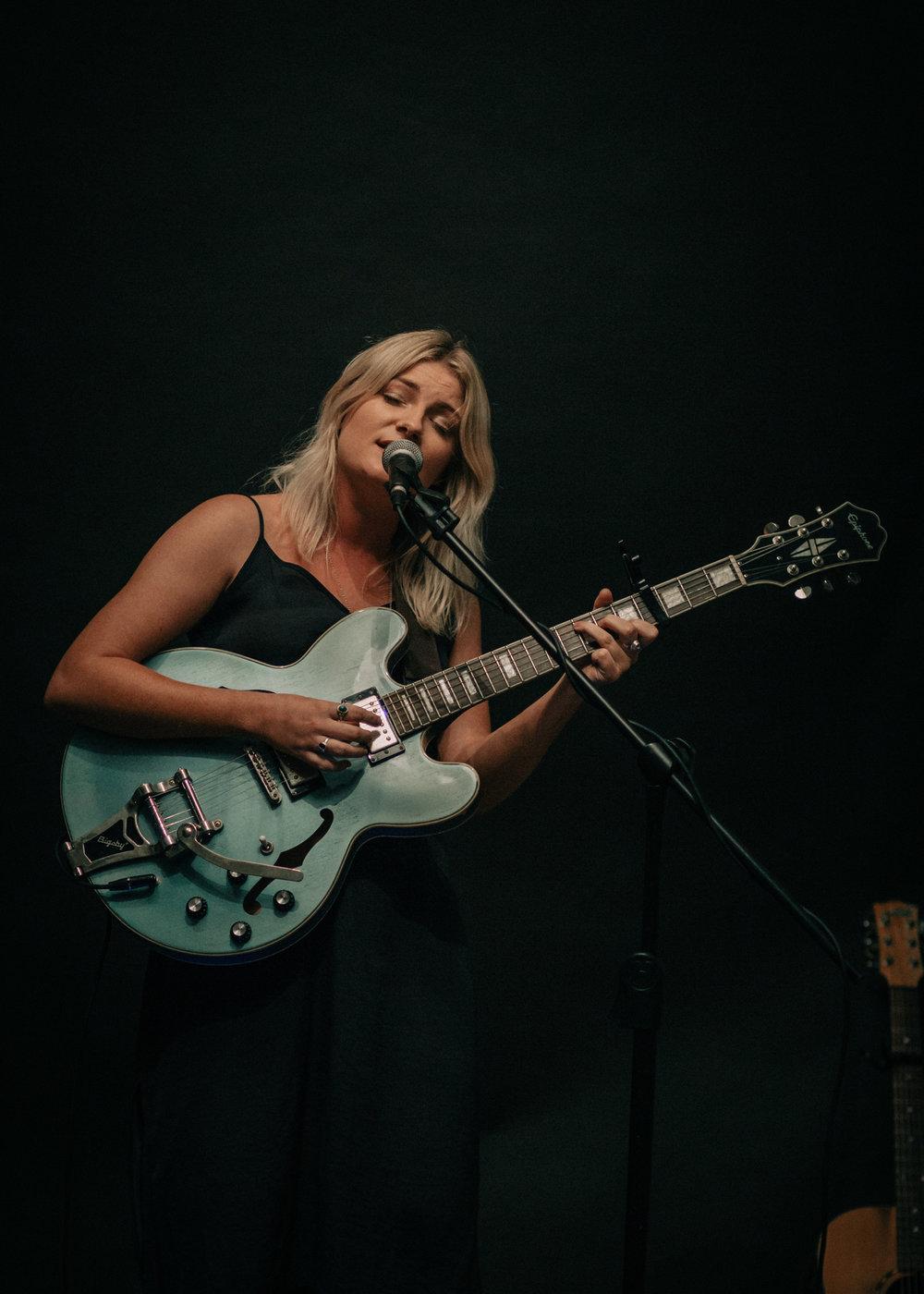 Keeley Connolly Guitar Portrait