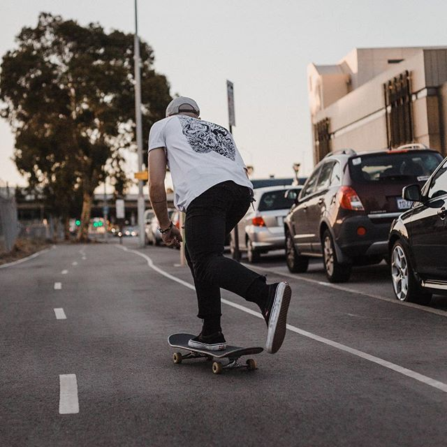 Cruising in the city with @matthewjamescrosby shot for @bmds.co apparel.