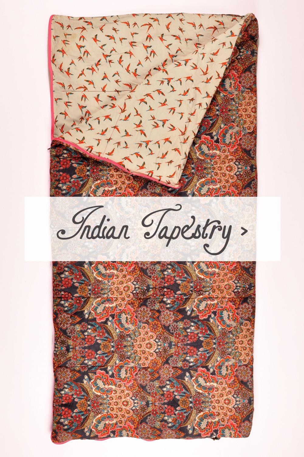 Indian Tapestry Sleeping Beauties