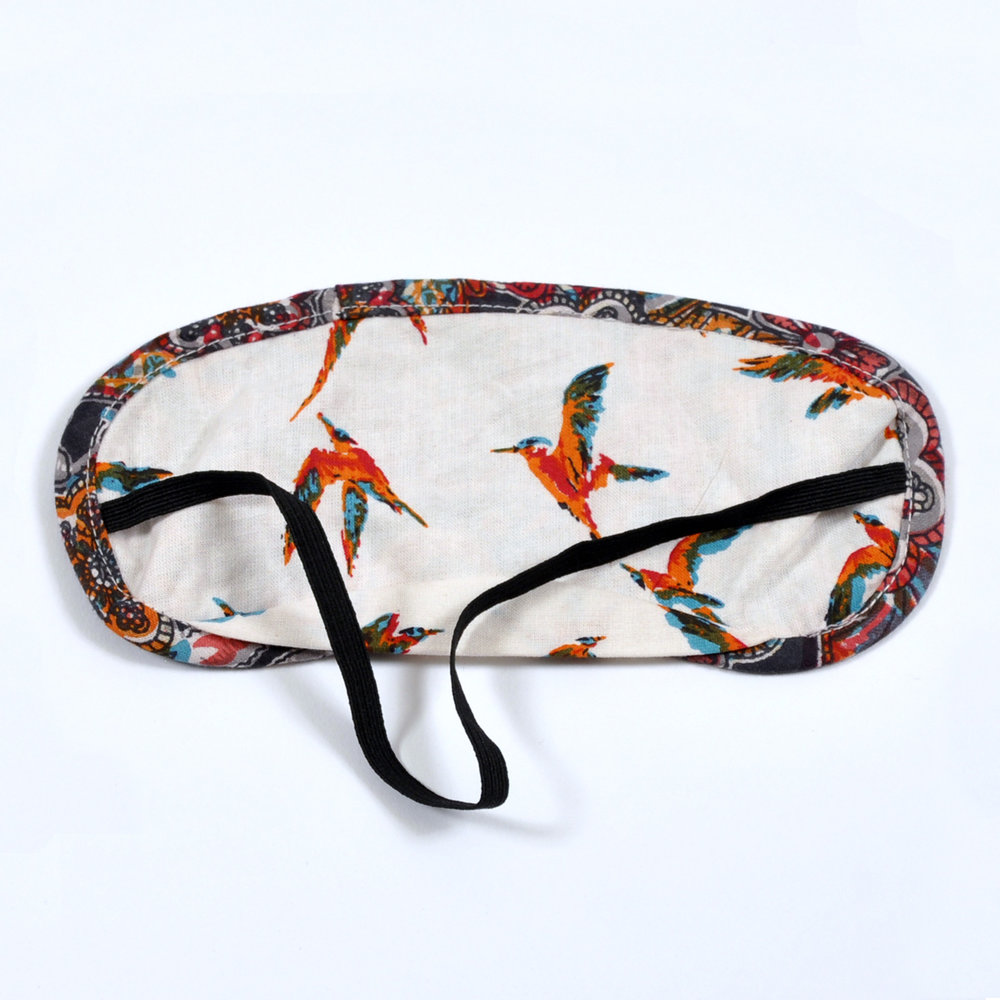 Indian Tapestry eye mask - reverse
