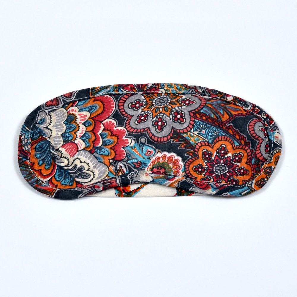 Indian Tapestry eye mask - front