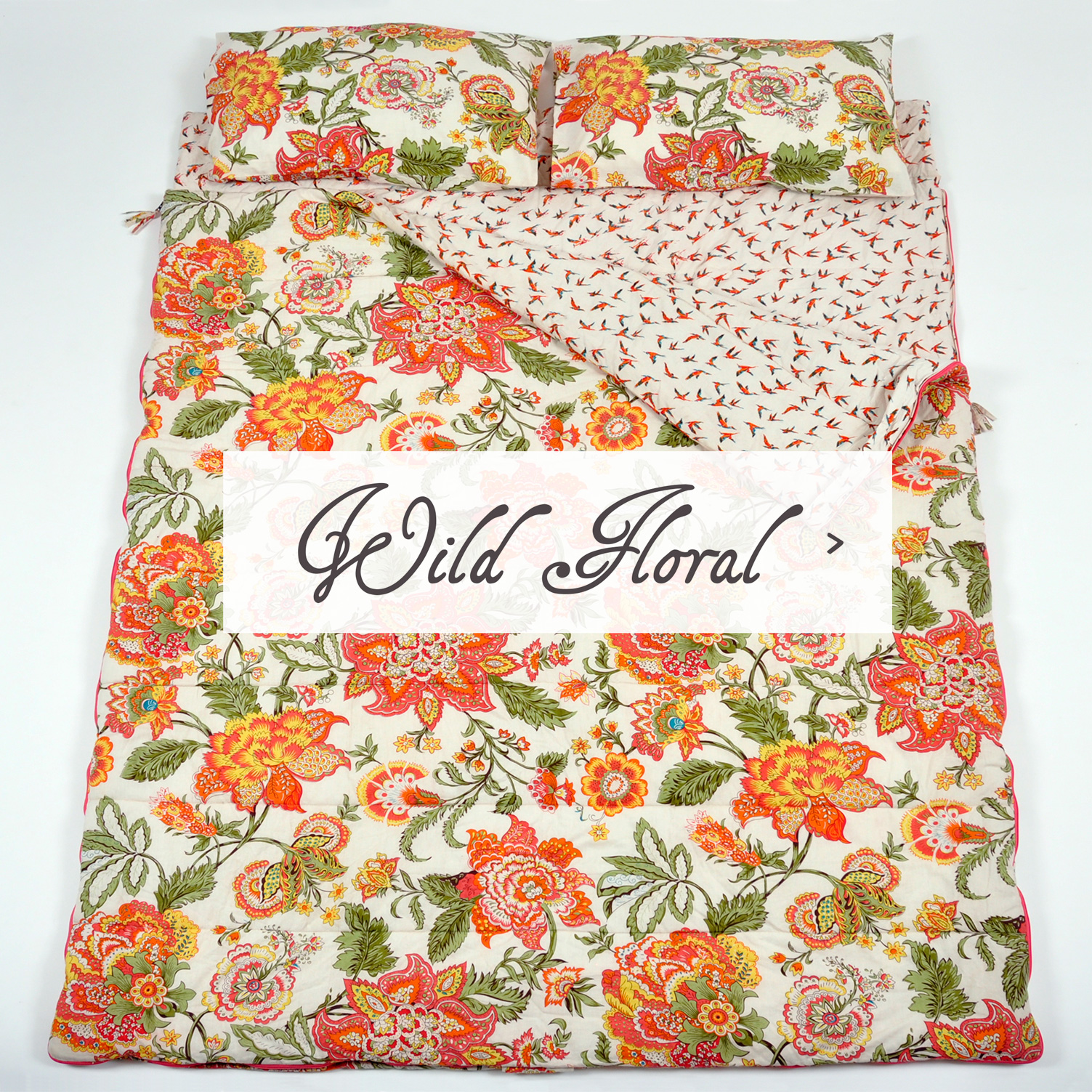 Wild Floral double bag Sleeping Beauties