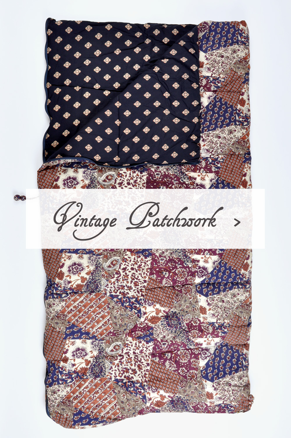 Vintage Patchwork Sleeping Beauties