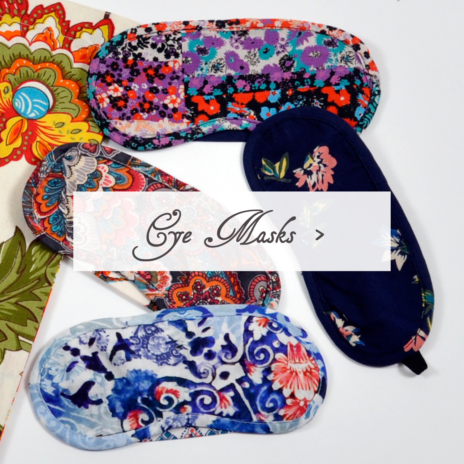 Sleeping Beauties reversible eye masks