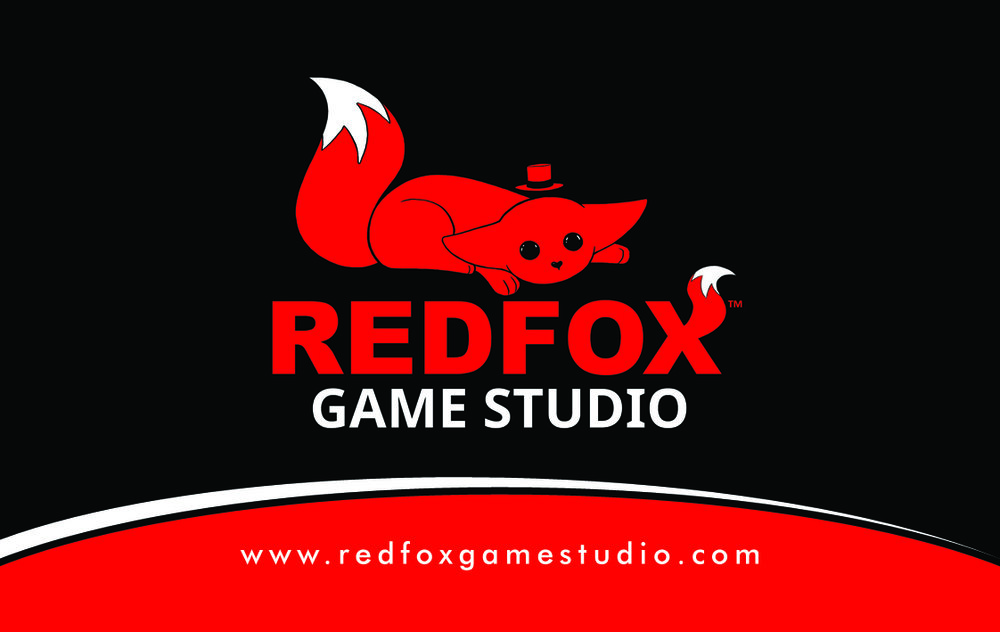 REDFOX Game Studio Business Card