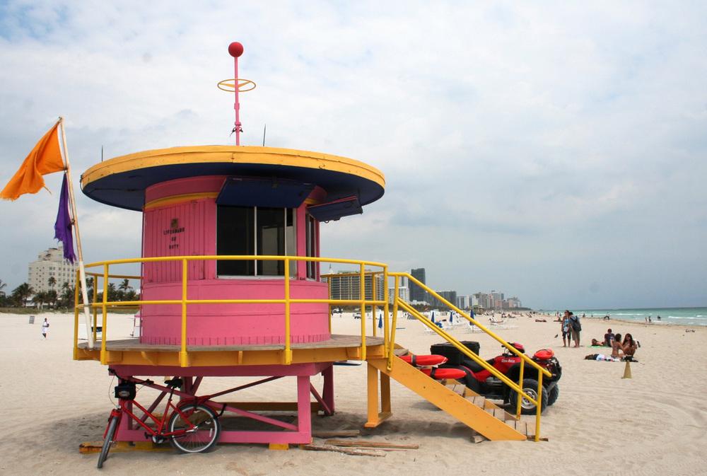 On location - Miami Beach, USA