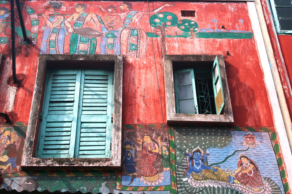 On location - Kolkata, India