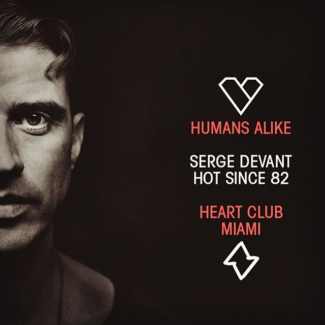 Looking forward to sharing decks with hot since 82 on Saturday November 19th on the terrace #heart #terrace