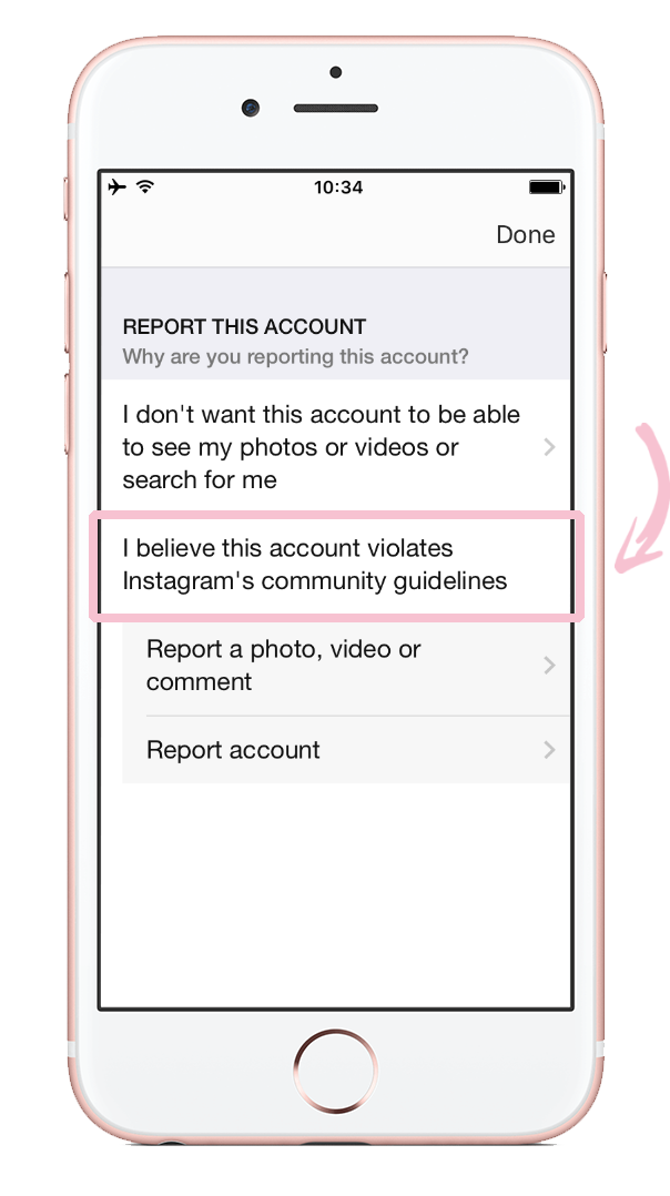 How to report nudity on Instagram 06