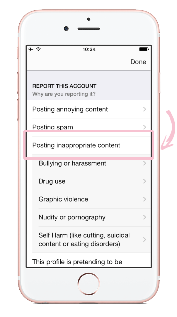 How to report nudity on Instagram 09