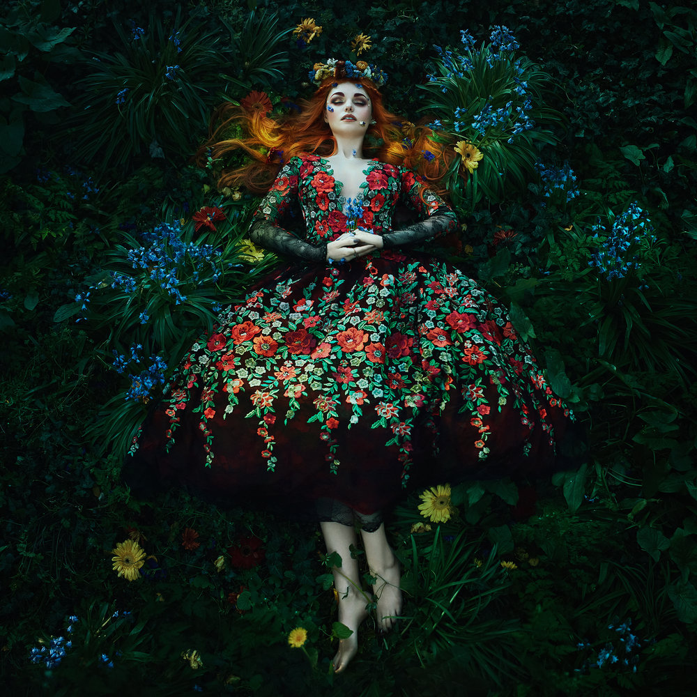 Eden    -   Bella Kotak.  Limited edition 60 x 60cm print with border -1 of 25. £350 - print only. To order contact:  info@elementstudios.co.uk