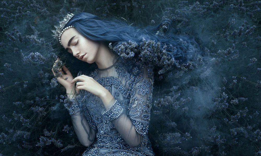 Lavender's Song   -   Bella Kotak.  Limited edition 70 x 100cm print - 1 of 25. £180 - print only. To order contact:  info@elementstudios.co.uk .