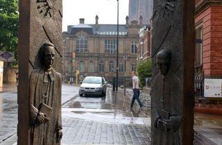 B ETTER TOGETHER  Sheppard Worlock Memorial Sculpture