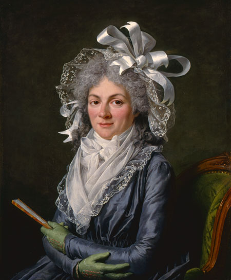 MADAME DE GENLIS, PAINTED BY ADELAIDE LABILLE-GUIARD IN 1790. © 2015 MUSEUM ASSOCIATES/LACMA