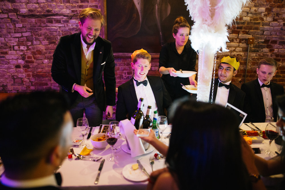 Performing magic at a 1920s themed event