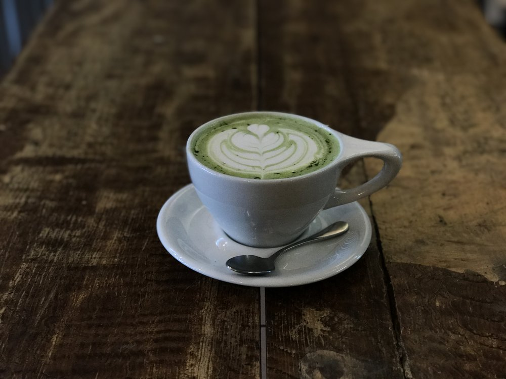 Green Day Matcha Latté. Winter 2017.