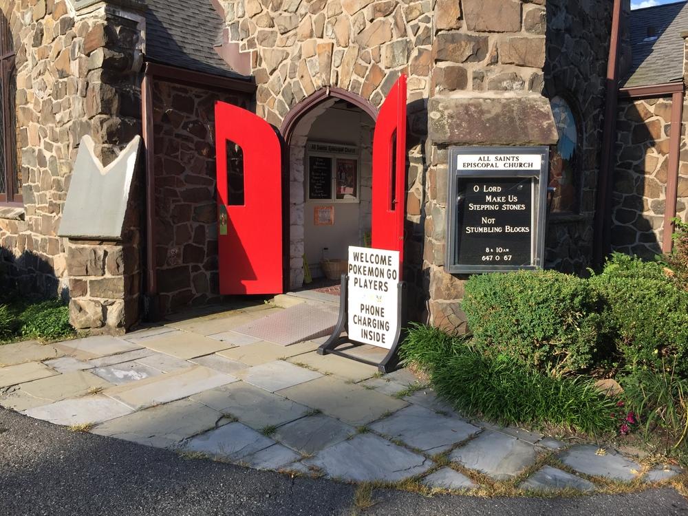 An Episcopal church near my hometown in New Jersey.