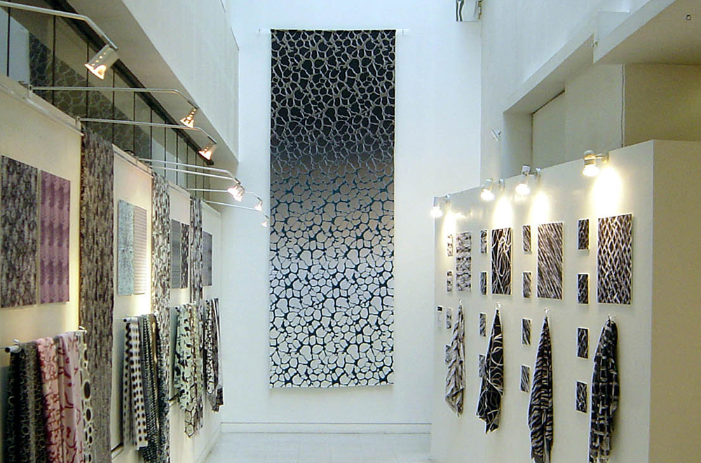McLeod, Natalie.  Natural Produce  [exhibition of printed textiles]  Atrium Gallery, The Glasgow School of Art, 2005 .