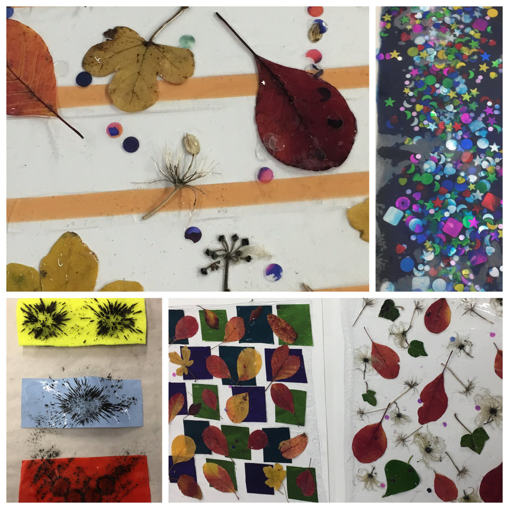 Selection of samples created by the Experimental Textiles Group, Autumn (2016)