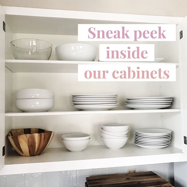 #shelfie Rental houses don't always reveal what's included in their cabinets. We have nothing to hide #stayinstowe #skihouse