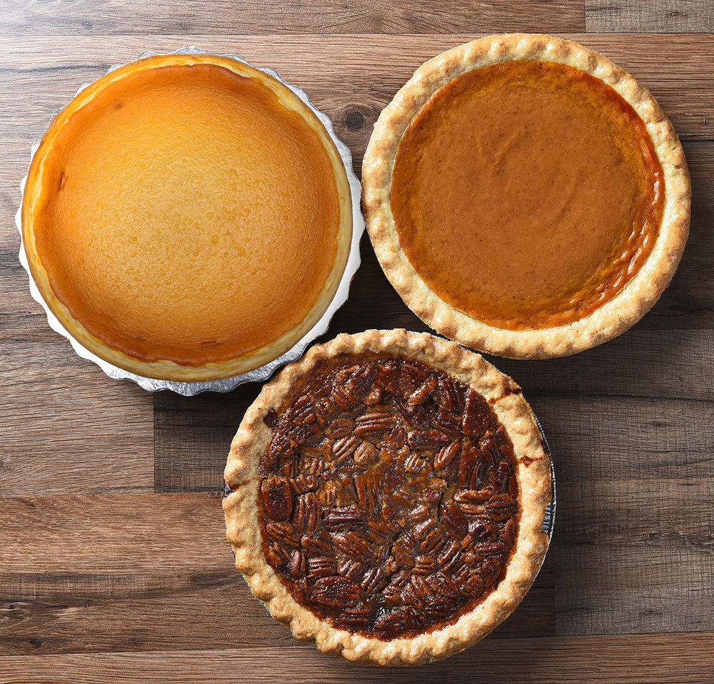 Holiday Pies: Pumpkin, Pecan & Cheesecake