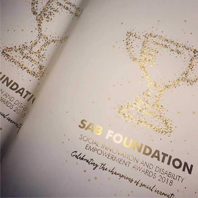 Latest works from BD-Studio and The Friday Street Club for The SAB Foundation. #brochuredesign #iconography #infographic# #goldfoil  #bdstudio_ct