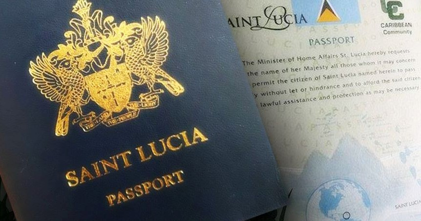 St lucia passport LIO global citizenship