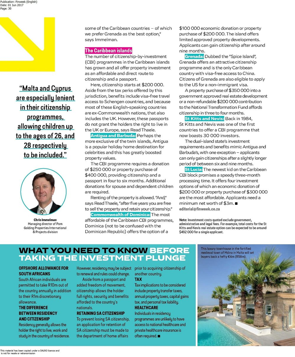 Finweek English LIO Global - pg 1 of 3 - Offshore property and visas incl. Malta - May 2017 (3).jpg