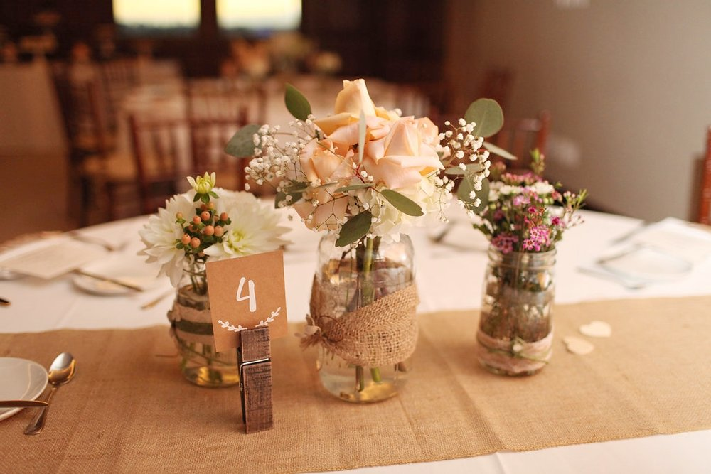 How to Make Your Own Rustic Wedding Decorations — Skybox Event ...