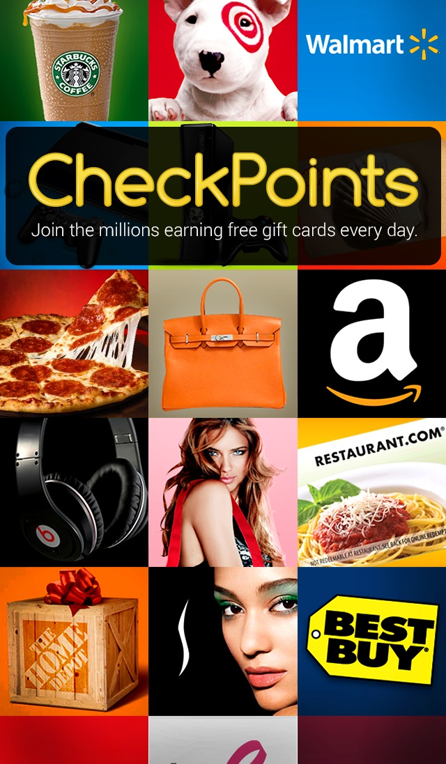 How to Earn Money Gift Cards - CheckPoints Review - what the girls say