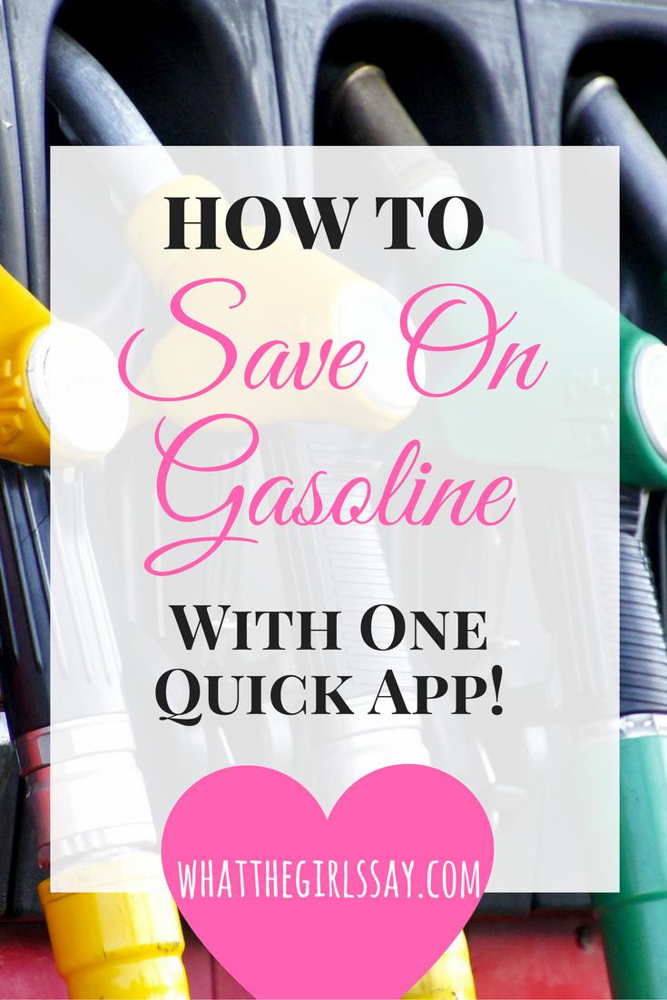 Gas Buddy - Save Money on Gasoline - whatthegirlssay.com