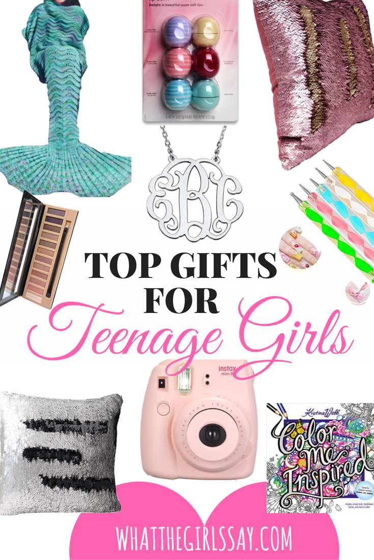 Top Gifts for Teenage Girls - Looking for the best gift idea for her?  Here are some great gift ideas for teenage girls.  Whether it be a gift idea for her birthday, Christmas, or other holiday, these Teenage Girl Gift ideas are sure to give you some inspiration!
