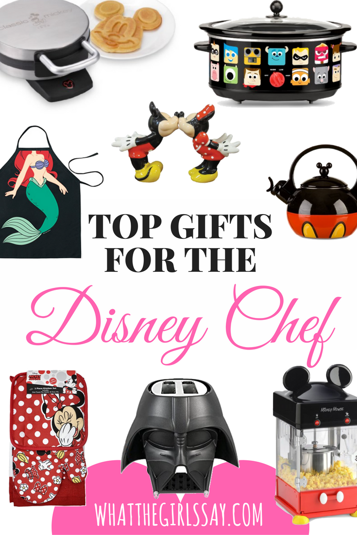 Top Gifts for the Disney Chef - whatthegirlssay.com - Holiday Gift Guide