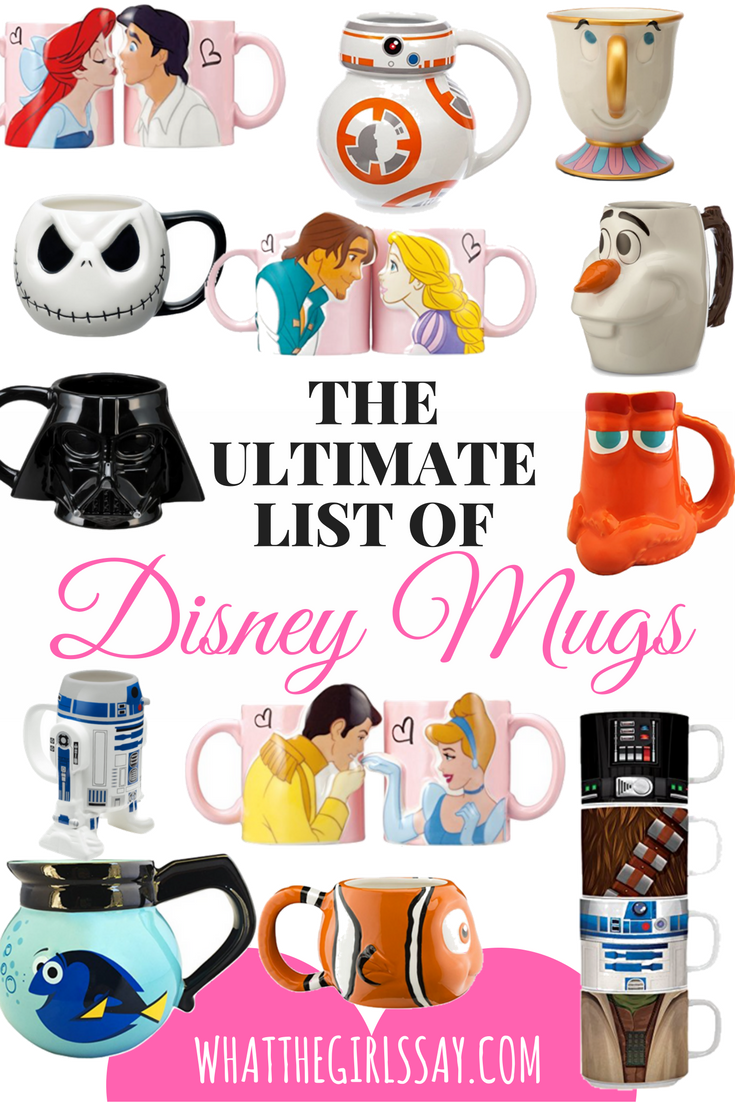 Top Gifts Disney Mugs - whatthegirlssay.com
