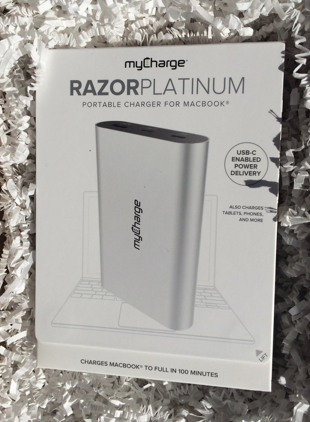MyCharge RazorPlatinum Review - whatthegirlssay.com