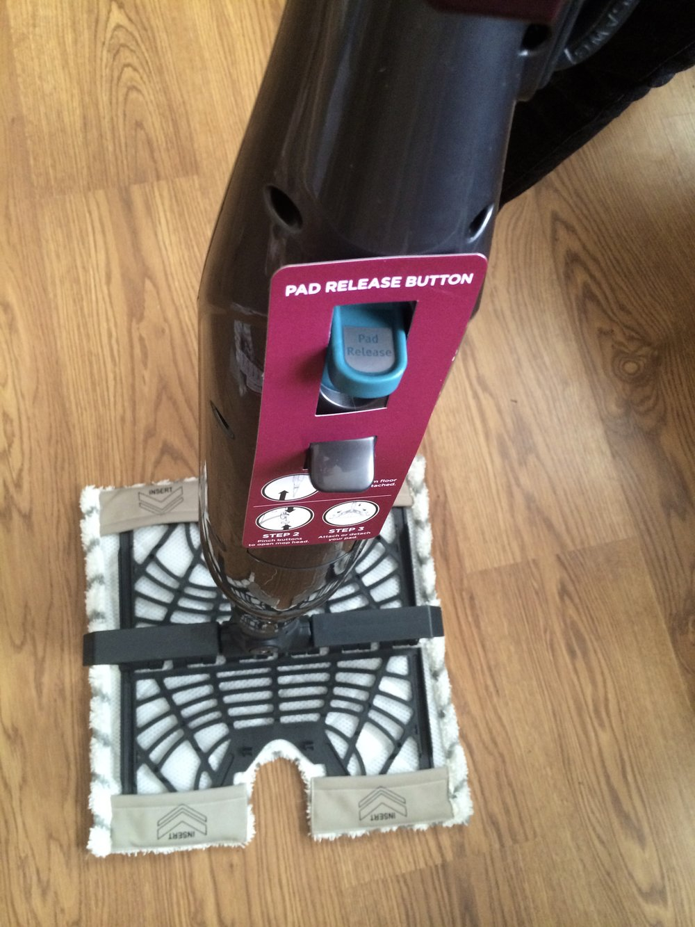 Shark Genius Hardwood Floor Cleaning System Review - whatthegirlssay.com