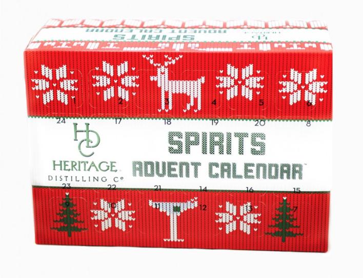 Spirits Advent Calendar - whatthegirlssay.com